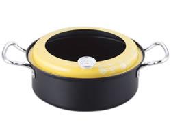 温度計付 天ぷら鍋